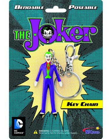 "3"" Bendable The Joker Key Chain"