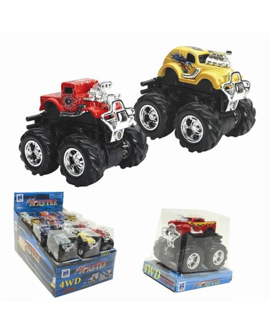 """3"""" Mini Friction Monster Trucks"""