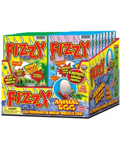 Fizzy Fun Animal Egg