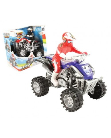 "7"" Friction Powered ATV"