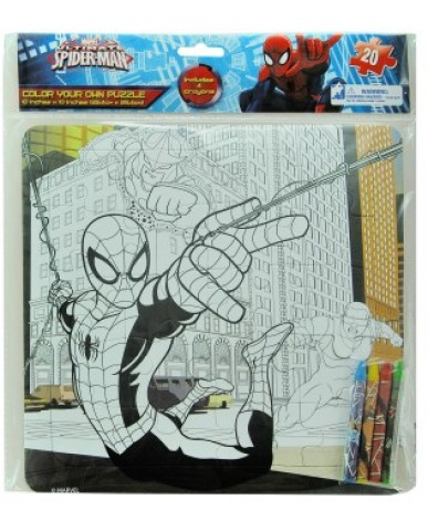 Spiderman Color Your Own Puzzle