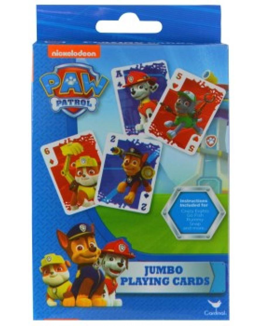 Paw Patrol Jumbo Playing Cards