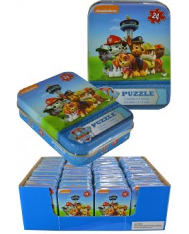 Paw Patrol Mini Tin Puzzle