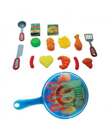 "9"" Frying Pan Play Set"