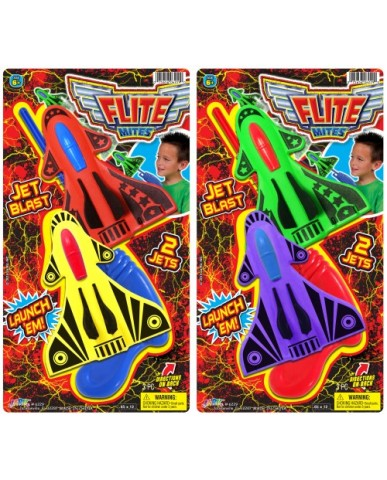 2 Flite Mites Planes with Launcher