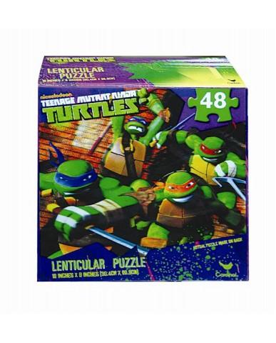 Teenage Mutant Ninja Turtles 3D Puzzles