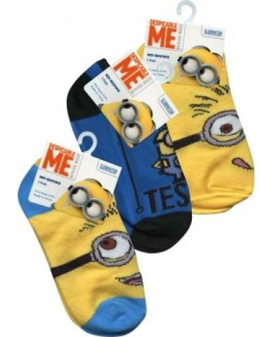 Minions Socks Size 6 - 8.5