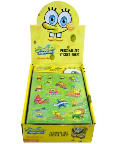 SpongeBob Puffy Stickers