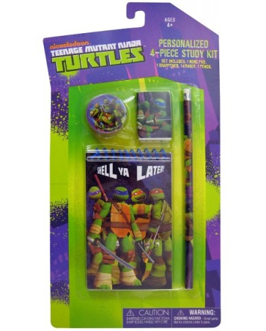 Teenage Mutant Ninja Turtles 4 pc. Study Kit
