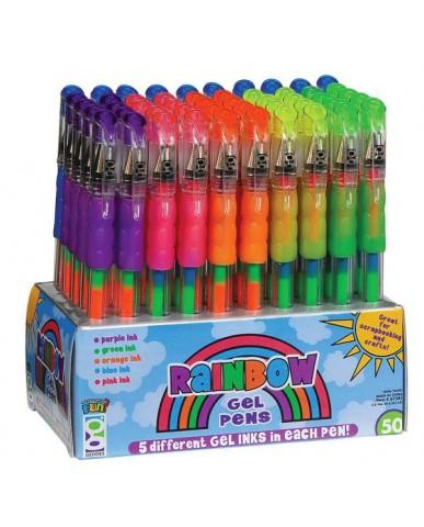 Rainbow Gel Pen