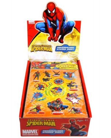 Spiderman Puffy Stickers
