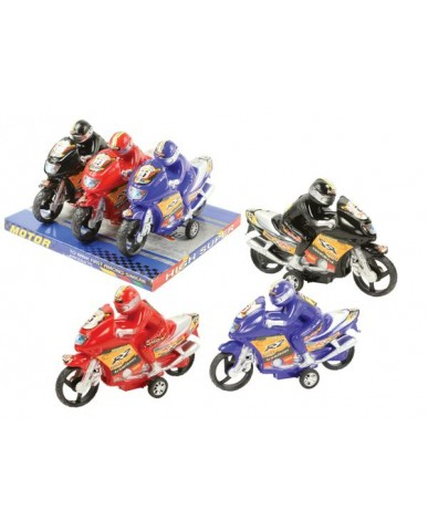 3-pk Friction Motorcycles