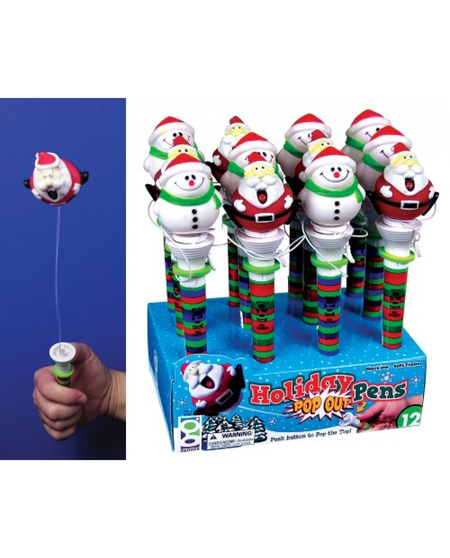 Holiday Pop Out Pen