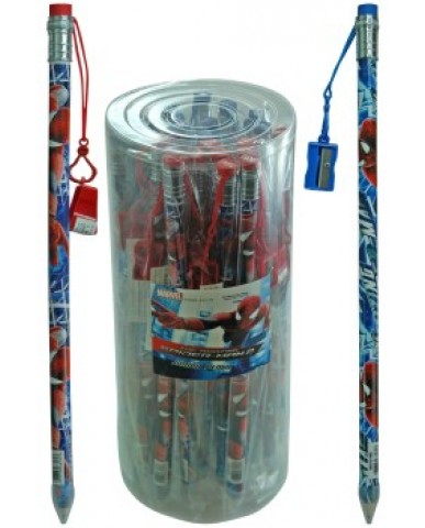 Spiderman Jumbo Pencil with Sharpener