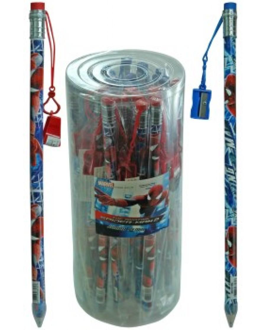 Spiderman Jumbo Pencil with Sharpener