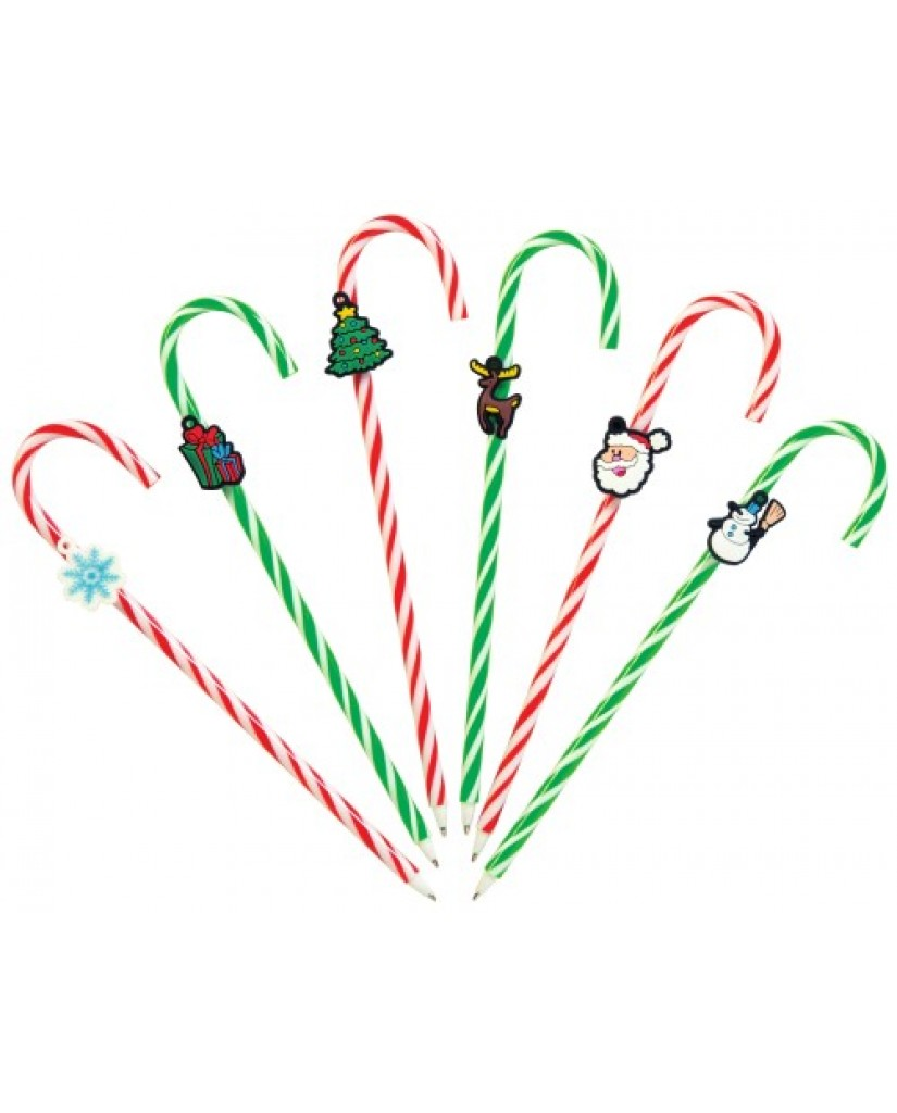 Christmas Candy Cane Pen