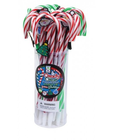 Christmas Candy Cane Pen