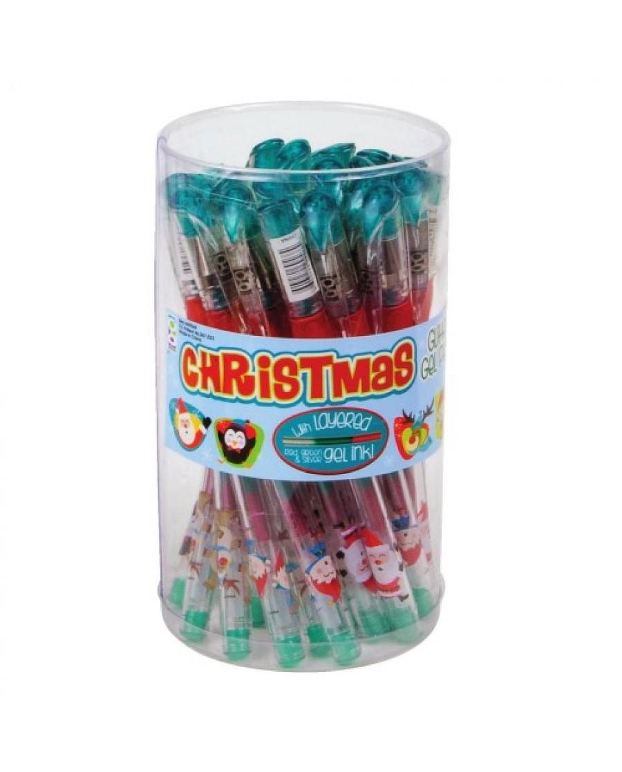 Christmas Rainbow Gel Pen