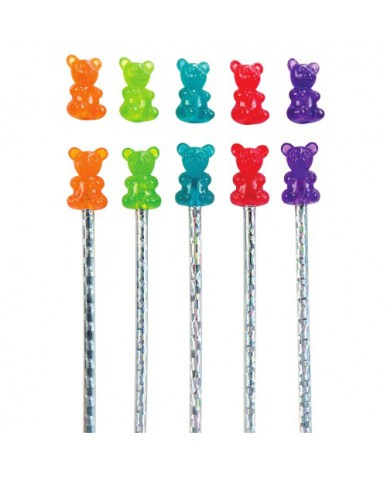 Scented Gummy Bear Pencil Topper