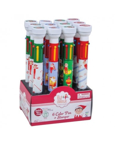Elf on the Shelf 6-Color Stamper Pen
