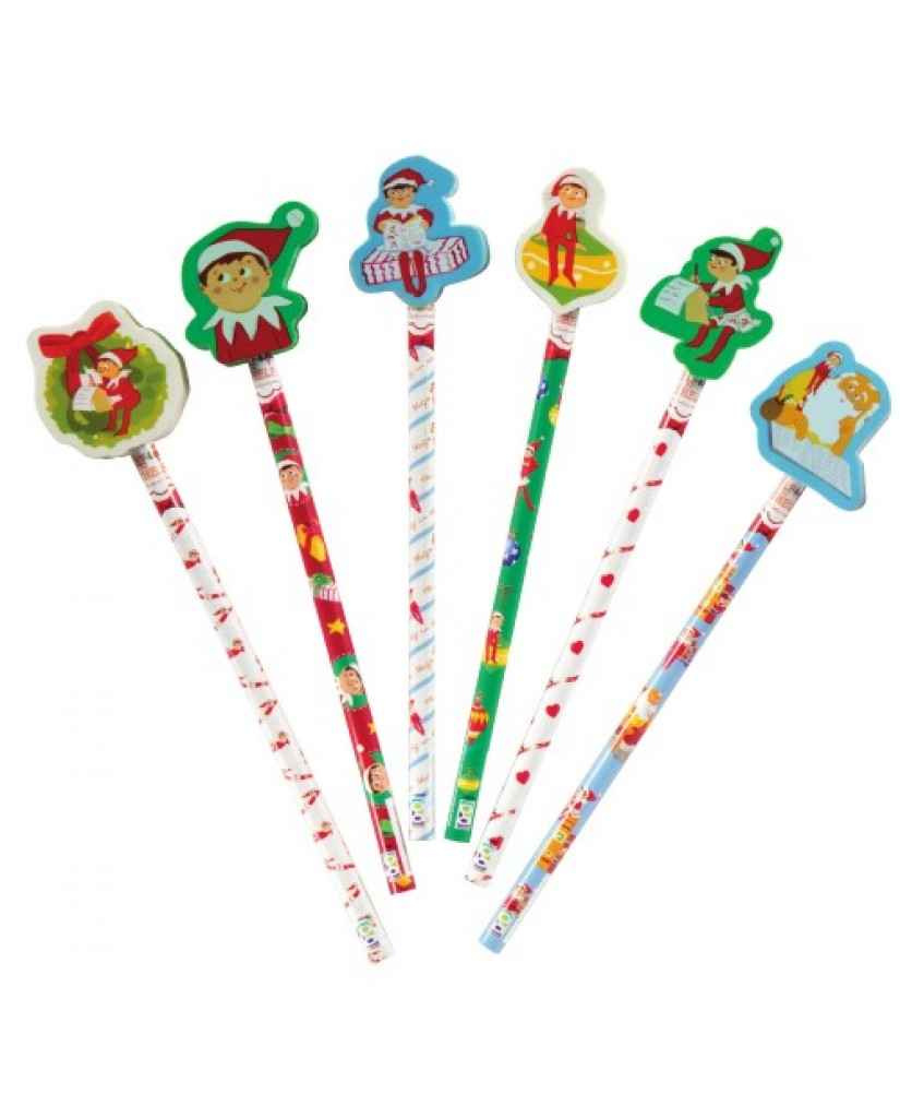 Elf on the Shelf Pencils with Toppers