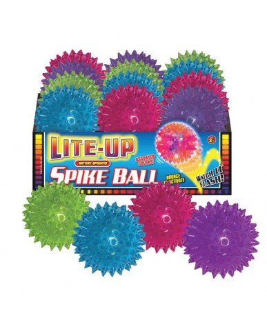 "3.5"" Light Up Spike Balls (in PDQ)"