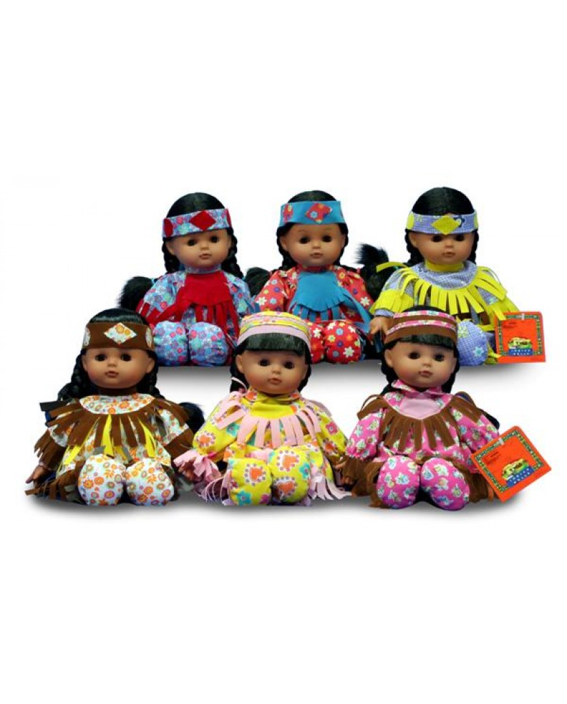 """12"""" Indian Doll"""