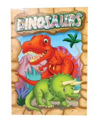Dinosaur Coloring & Activity books