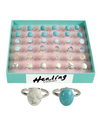 Healing Stones Rings