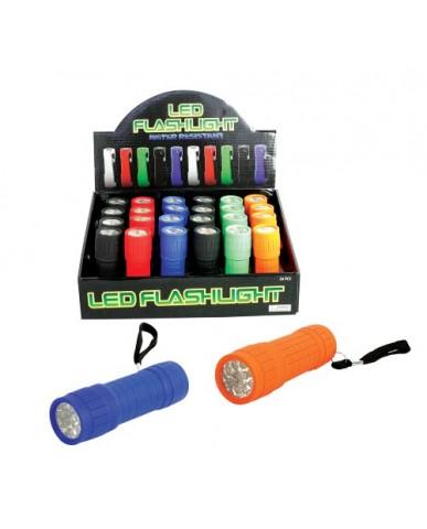 Mini Rubber Case LED Flashlights