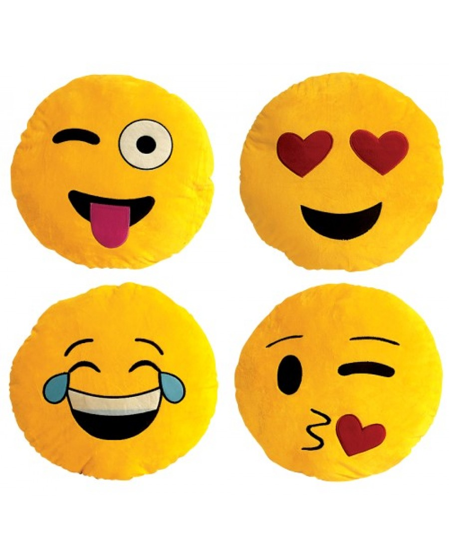 "10.5"" Emoji Pillows"