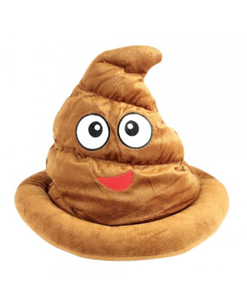 """13"""" Poop Emoji Hat"""