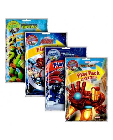 Action Heroes Grab 'N Go Play Packs