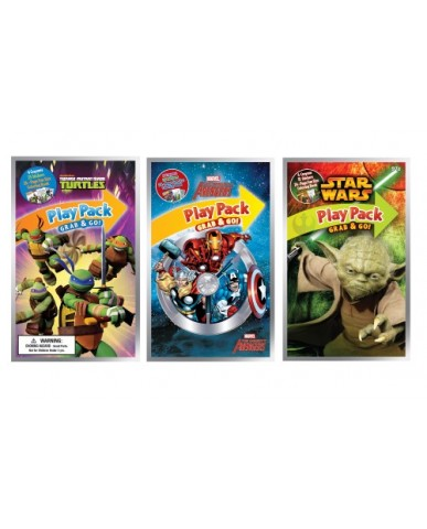 Action Heroes Grab 'N Go Play Packs