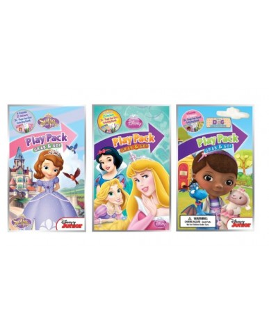 Disney Junior Girl's Grab 'N Go Play Packs