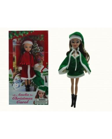 """12"""" Amelia Christmas Doll"""