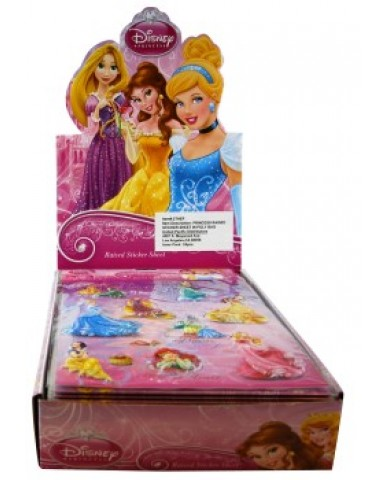 Disney Princess Puffy Sticker Sheet