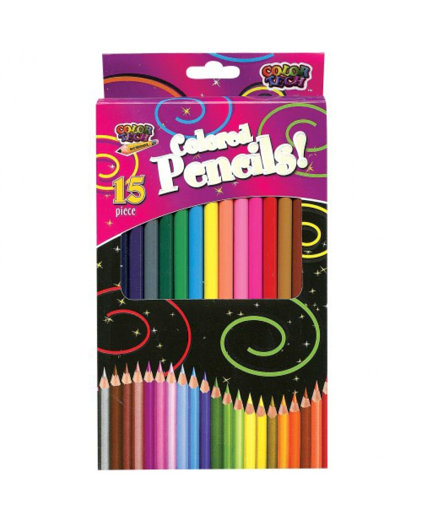 15 ct. Colored Pencils