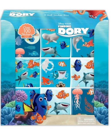 Finding Dory 9-Roll Sticker Box