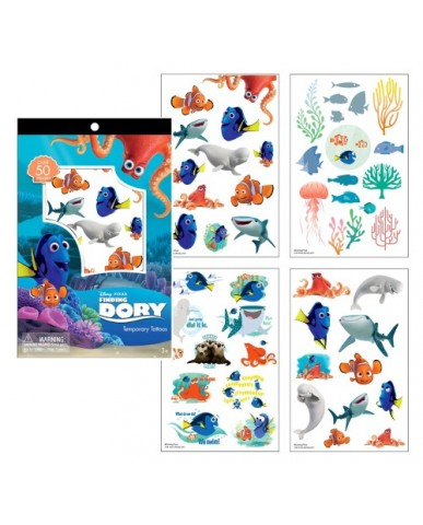 Finding Dory Tattoo Sheets