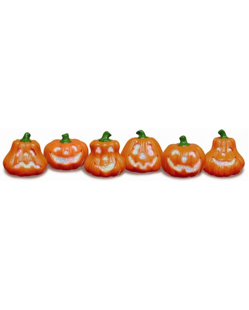 "4.5"" Glowing Jack-O-Lanterns"