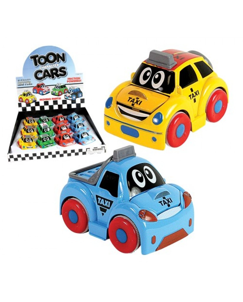 "3.25"" Die Cast Taxi"