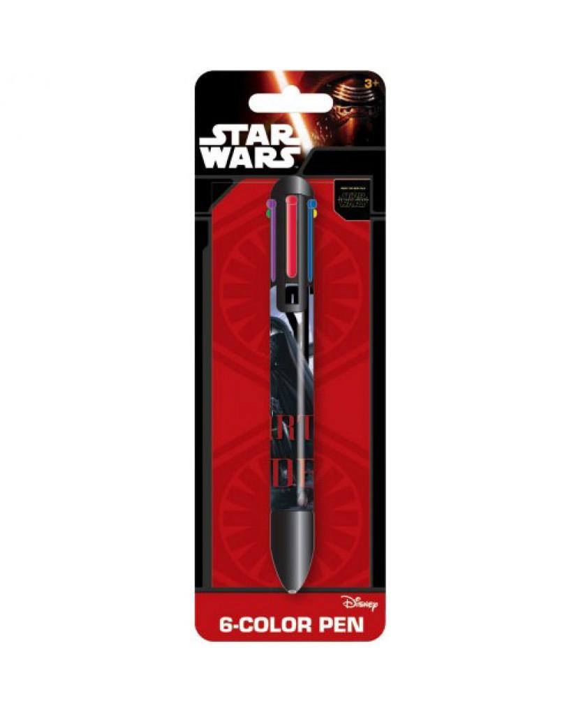 Star Wars Ep. 7 6-Color Pen
