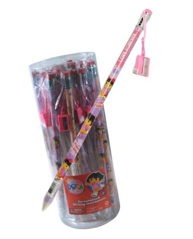 Dora the Explorer Jumbo Pencil with Sharpener