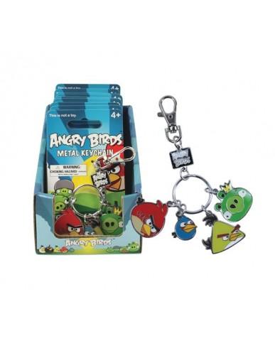 Angry Birds Enamel Keychains