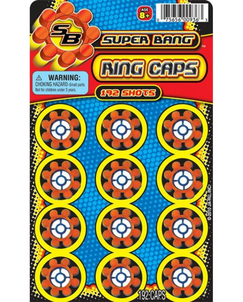 192 Ring Caps