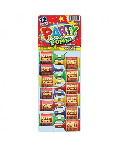 12 pk Party Popper