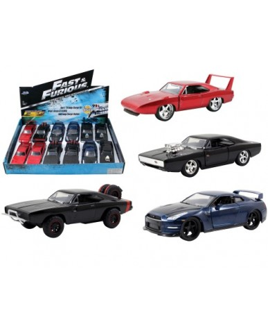 "Fast & Furious 7 Licensed 4.75"" Cars"