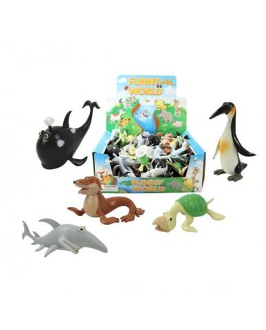 Cartoon Sea Life Creatures