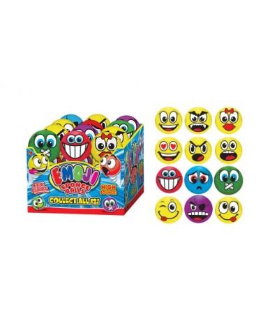 "2.5"" Emoji Hi-Bounce Sponge Balls"